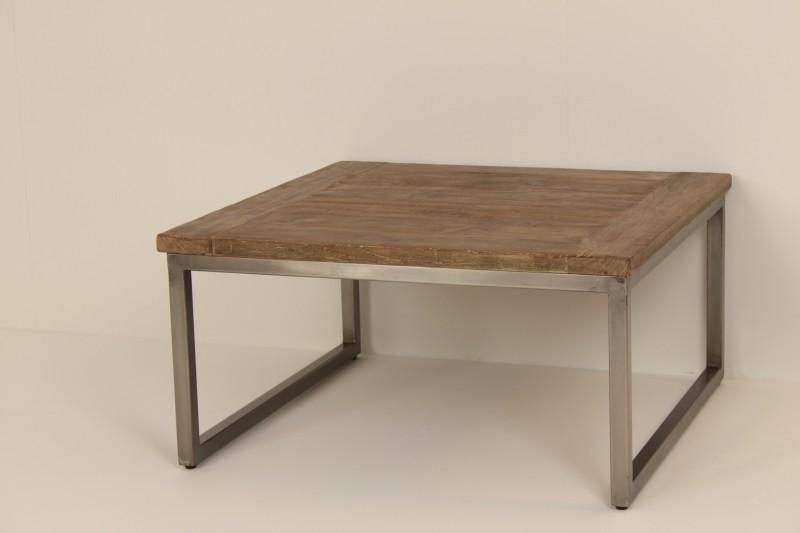Ijzeren Onderstel Tafel : Salon tafel loyd met ijzer onderstel de woerd